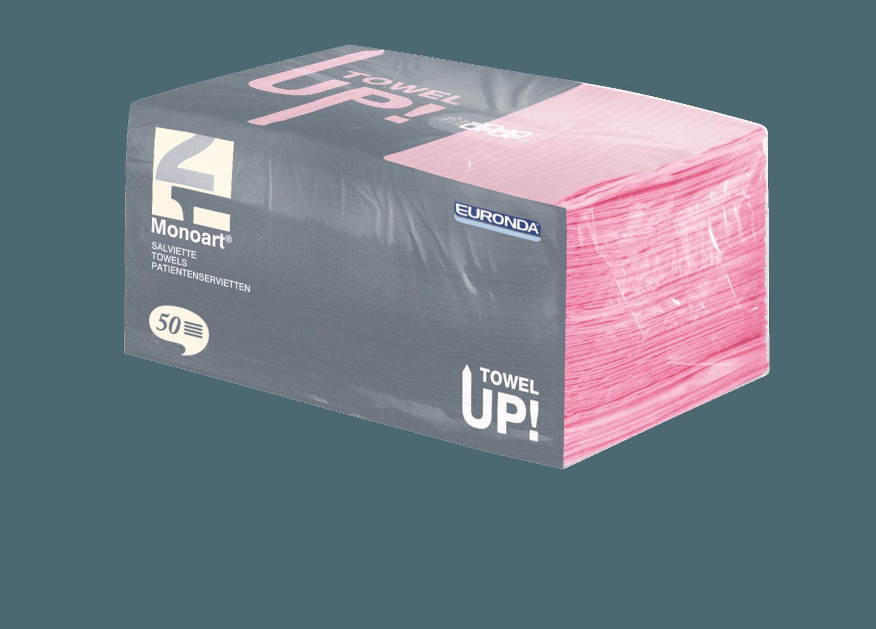 Monoart TowelUP Servietten, rosa