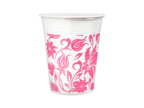 Monoart Trinkbecher Flower, 180ml - 1.000 St.