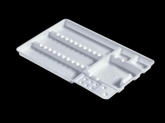 Kunststoff-Normtrays zum Einmalgebrauch