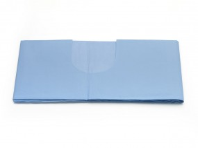 OP-Abdecktuch 100 x 150 cm mit U-Ausschnitt 11 x 30 cm