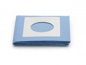 OP-Abdecktuch 100 x 150 cm mit dezentralem Ausschnitt selbstklebend