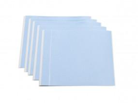 Schutzfolie selbstklebend 20 x 20 cm hellblautransparent
