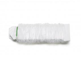Schlauchüberzug mit Fixiergummi 120 x 7 cm transparent