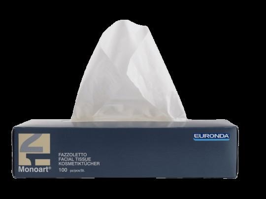 Monoart Kosmetiktücher 2-lagig, ca. 20x20cm
