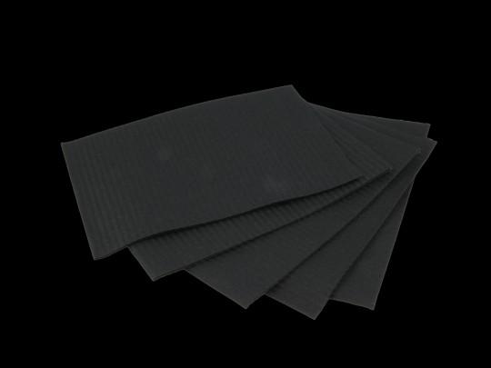 Monodark Patientenservietten TOWEL UP schwarz