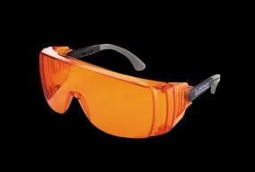 Monoart Schutzbrille Light - mit Lichtschutzfilter orange