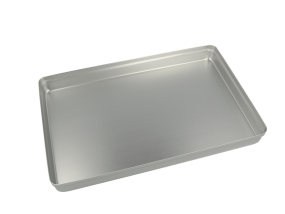 Aluminium Norm-Tray Deckel, silber