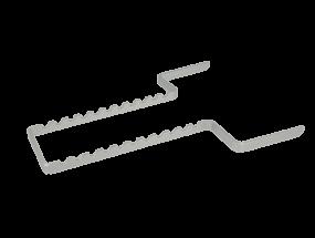 Normtrayeinsatz Aluminium