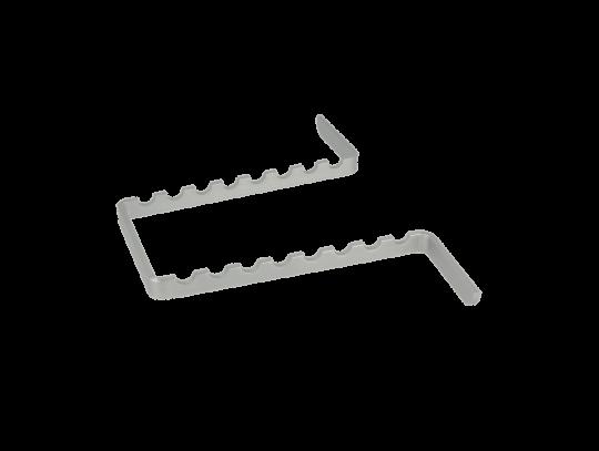 Alu-Minitrayeinsatz für 8 Instrumente