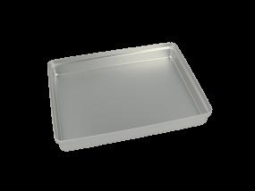 Aluminium Mini-Tray Deckel ungelocht, silber