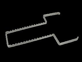Instrumenteneinsatz Edelstahl für Normtrays